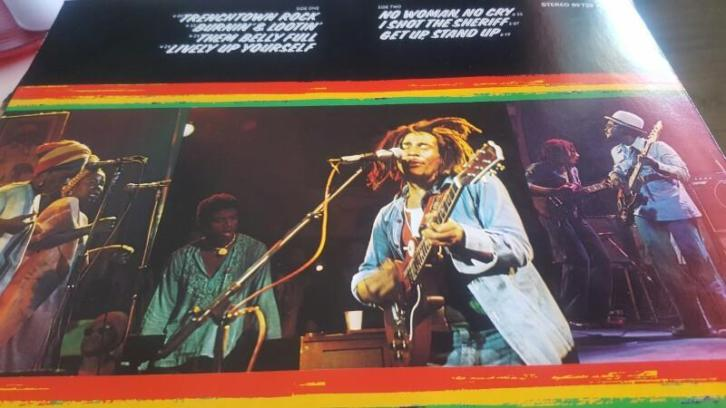 lp bob marley and the wailers live
