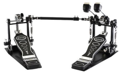 Soho PD-800TW twin drum pedal, demo!