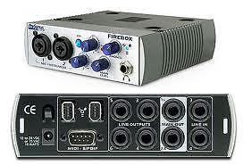 Presonus Firebox Firewire Audio Interface