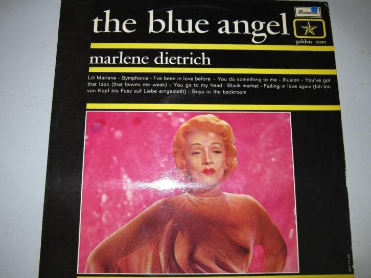 Marlene Dietrich The Blue Angel