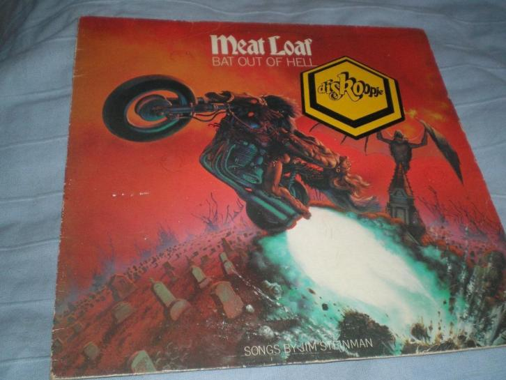 LP. Meat Loaf. Bat out of Hell