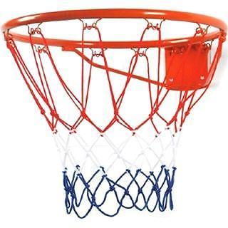 Angel Sports Basketbalnetje Rood Wit Blauw (Basketbalnetten)