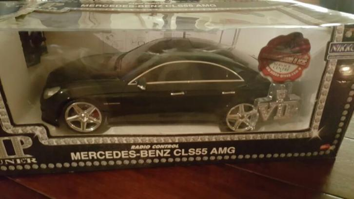Modelauto mercedes cls 55 amg radiografisch