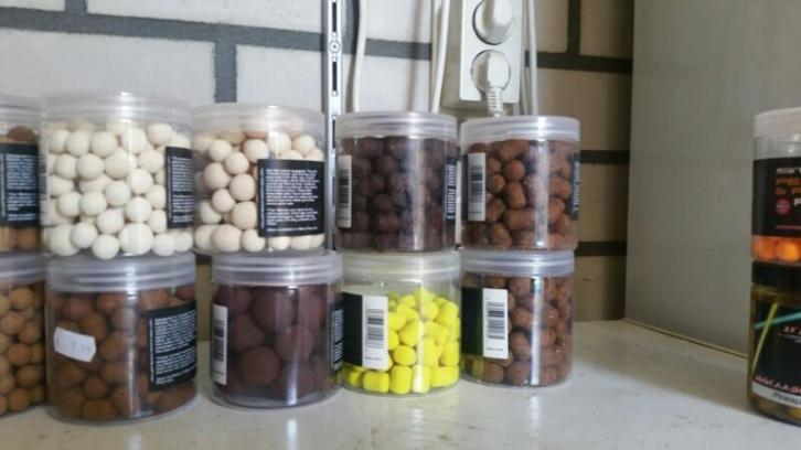 sticky baits popups hookbaits wafters dumbells