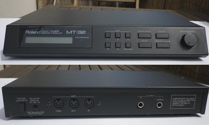Roland Synthesizer module.