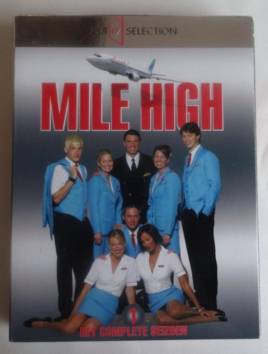 tv serie MILE HIGH HET COMPLETE SEIZOEN 1 dvd (4 DVD'S)