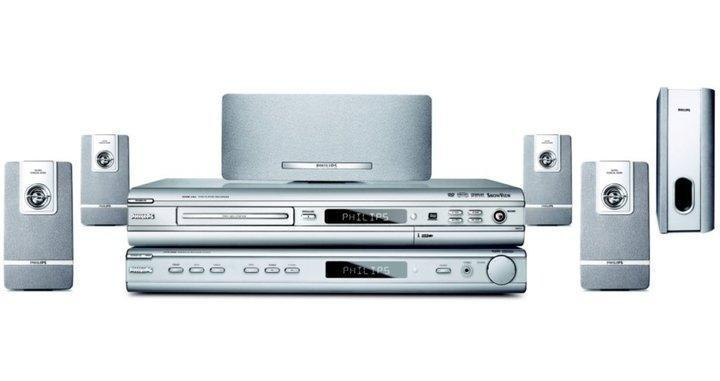 Philips - HTS5700R/12 DVD-recorder/home cinema