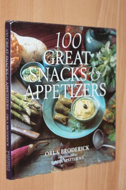 100 great snacks & appetizers - Broderick - 30612