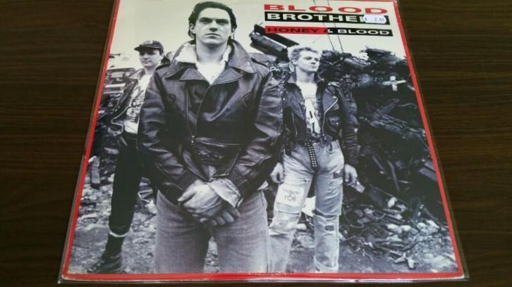 Blood brothers honey & blood lp vinyl