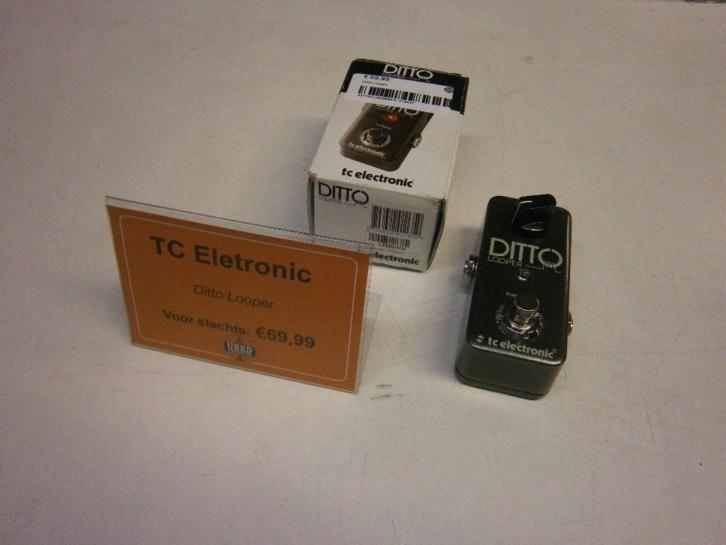 TC Electronic Ditto Looper True Bypass Gitaar Effect