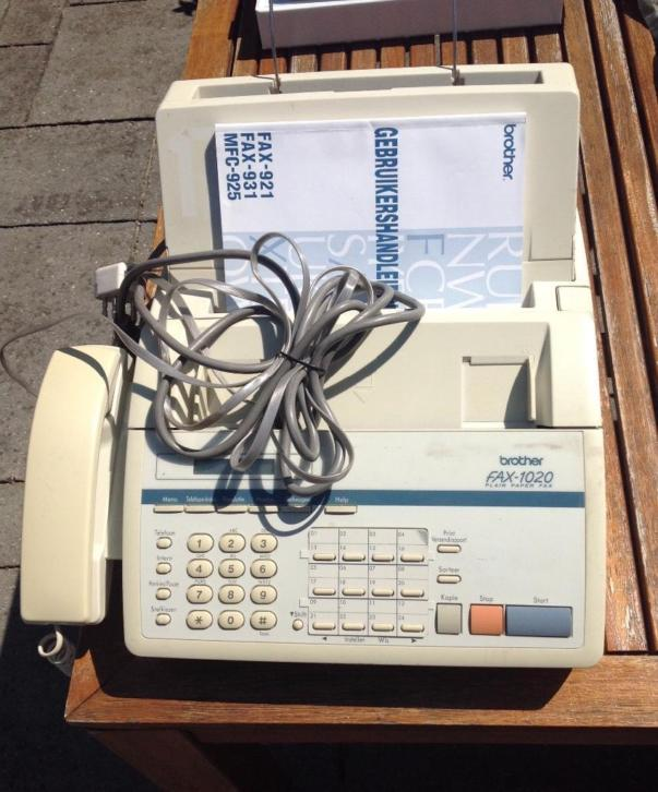 Brother fax telefoon