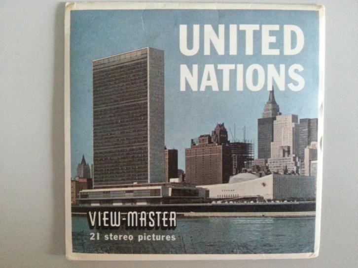 Viewmaster VN New York USA A 651 view master