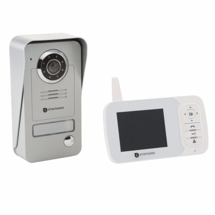 Smartwares VD38W draadloze video-intercom