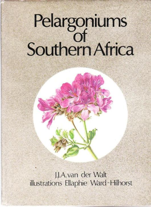 Pelargoniums of Southern Africa by J.J.A. van der Walt