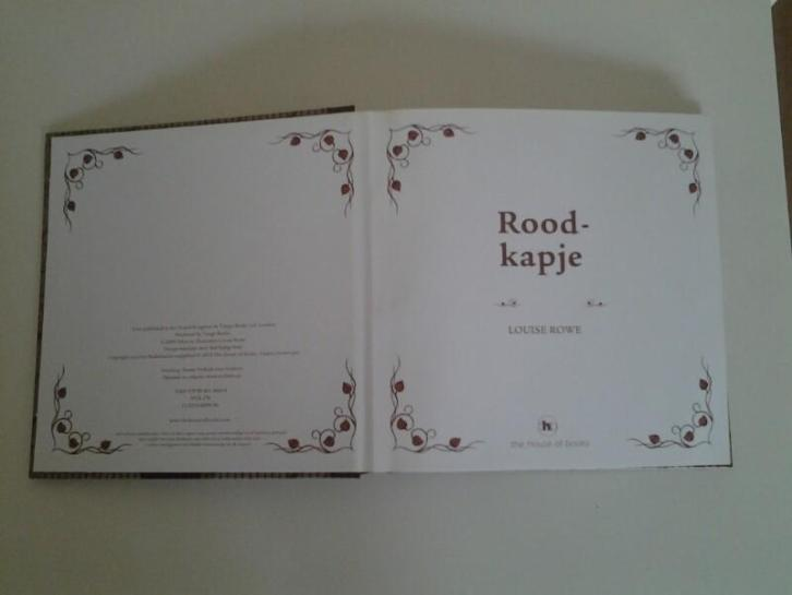 Roodkapje pop up boek