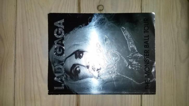 Lady Gaga Monster Ball Tour Boek