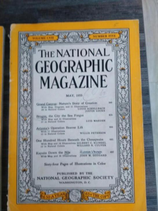 National geographic uit 1955