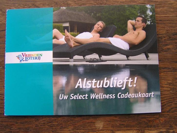 SWG, Select Wellness Group, Sauna cadeaubon, 2 of 4 personen