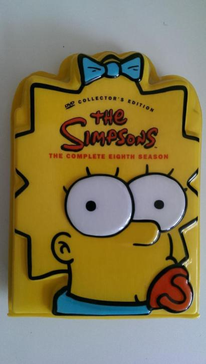 The Simpsons seizoen 8 DVD-box