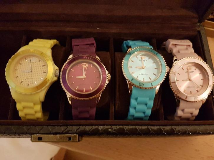 4 Addiction JetSet horloges te koop