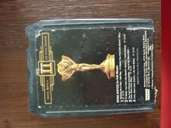 8track tape Rose Royce - II (nice voor uw Rolls...) disco/so