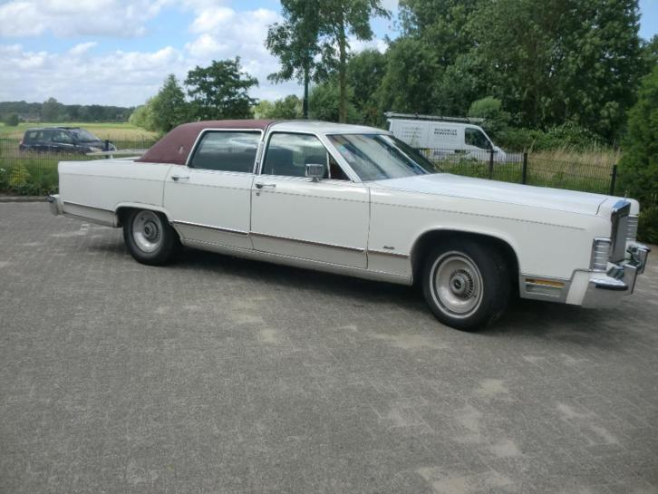 Lincoln Continental 7.2 Town CAR AUT 1979 Wit