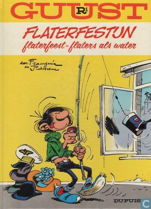 Guust Flater - Hardcover R1 (Uitgave: 1985)