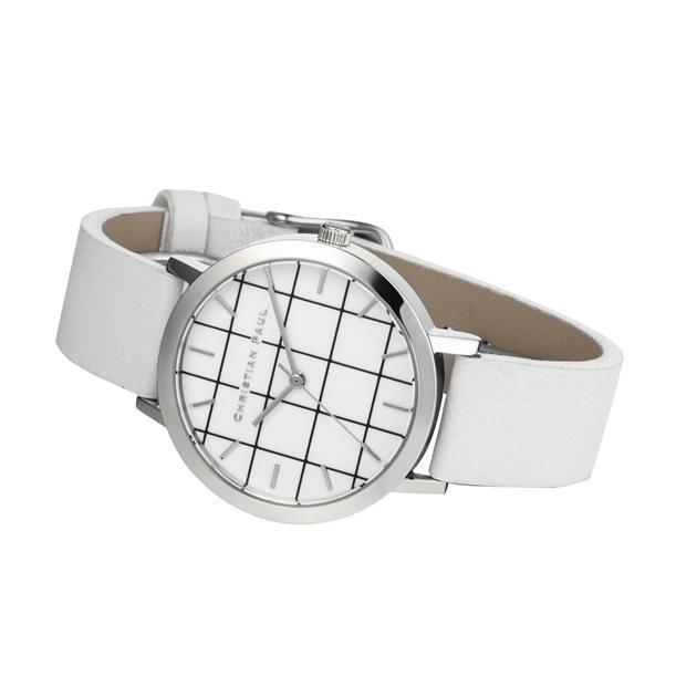 Christian Paul - Hayman Grid 35 MM - Silver / White