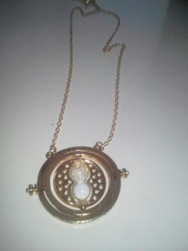 Harry potter Time Turner ketting Oorbellen Deathy Hallows