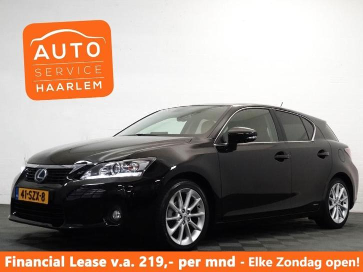 Lexus CT 200h BUSINESS LINE PRO ,Cognac vol leer, Navi, Came