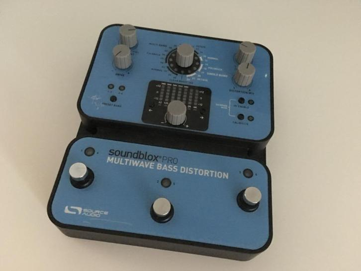 Pedal - Soundblox Multiwave Pro Distortion