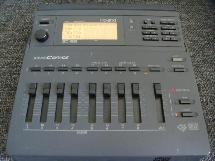 Roland Sound Canvas SC-155