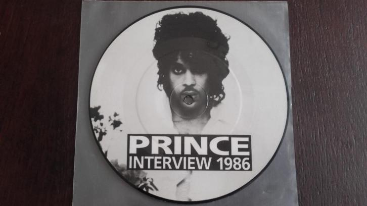 prince picture disc 1986