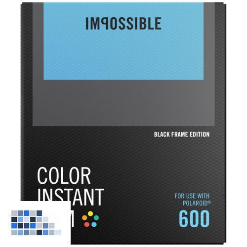 Impossible Color Film für 600 Black Frame NEU