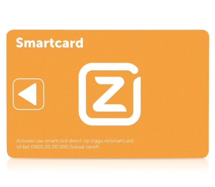 Ziggo smartcards. Digitale TV.