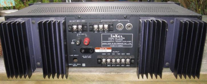 Inkel PA-838 professional power amplifier