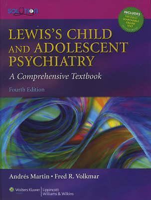Lewis's child and adolescent psychiatry 9780781762144