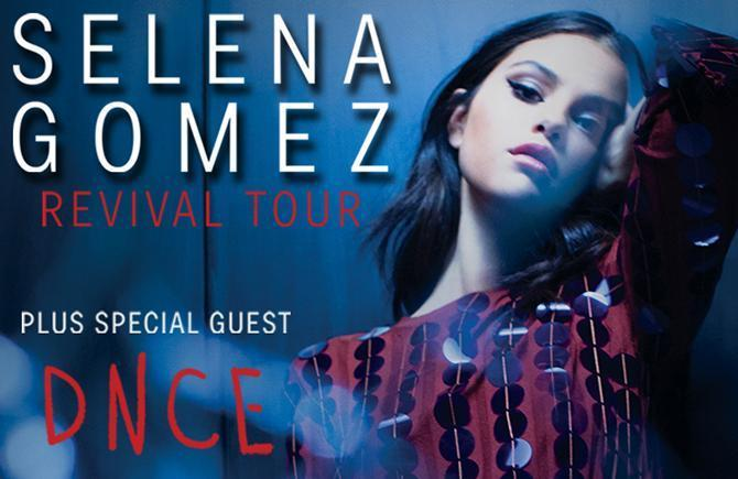 Selena Gomez The Revival Tour 2x (GOLDEN CIRCLE)