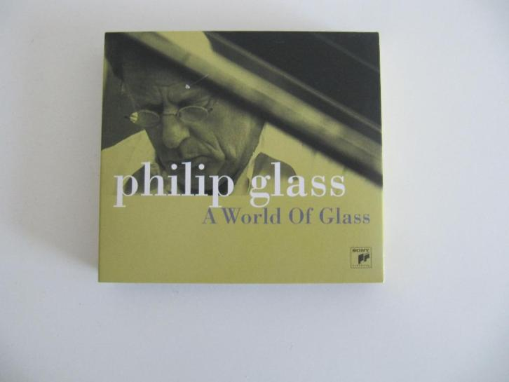 3 cd + dvd Philip Glass a world of Glass - Sony Music