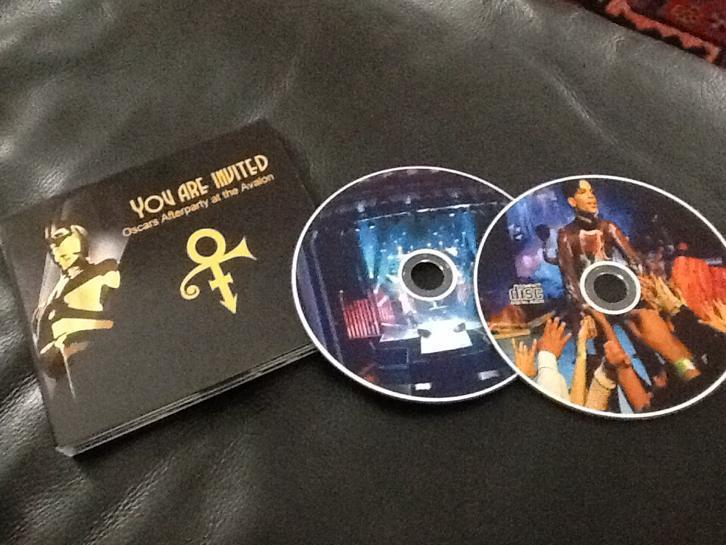 2CD Prince you are invited Oscars afterparty Avalon 2009 NPG