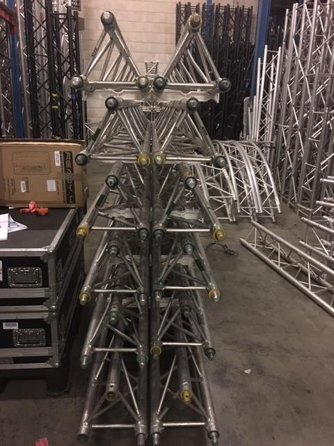 Prolyte X30D 12 x 3 meter truss rigging