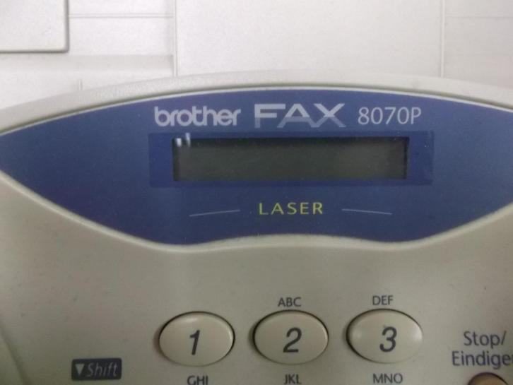 Brother fax 8070 p