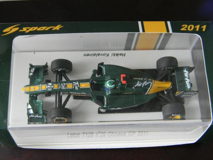Spark s 3020 lotus t 128 no 20 chinese gp 2011 schaal 1-43