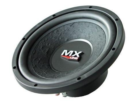 "10 x Audio-Systems MX10 10"" Subwoofer 300Watt"