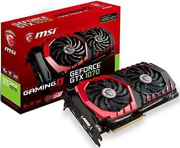 MSI GeForce GTX 1070 GAMING X - 8 GB