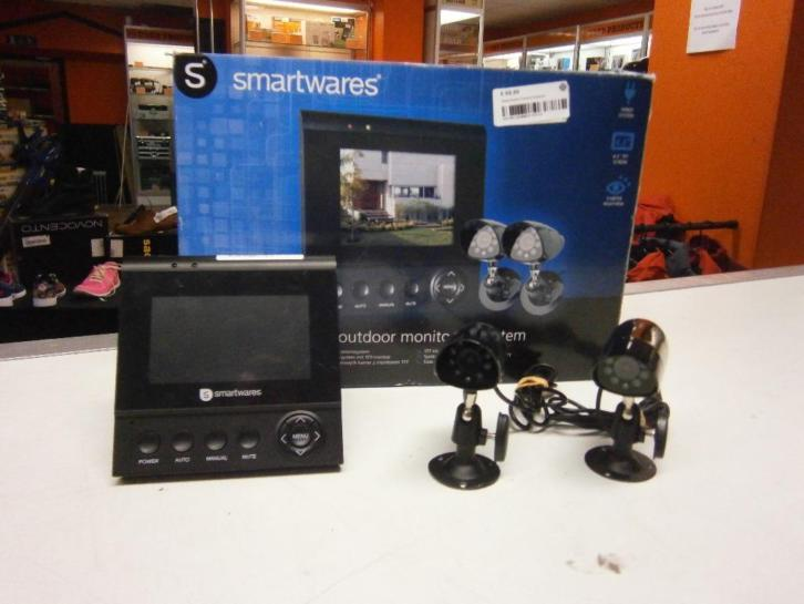 Smartwares CS72SEC Camera Set met 2 Camera's en 1 Scherm