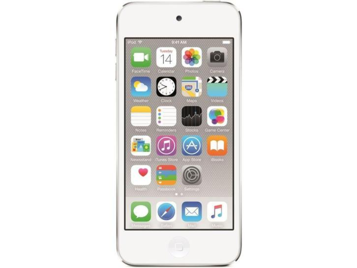 Apple iPod Touch 6 16GB Silver € 169,- 32 Gb € 209,-