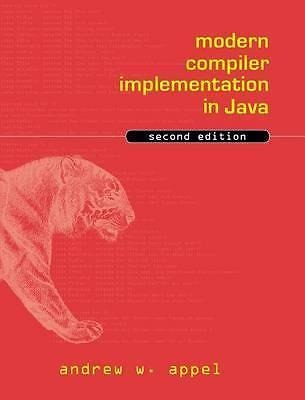 Modern compiler implementation in java 9780521820608