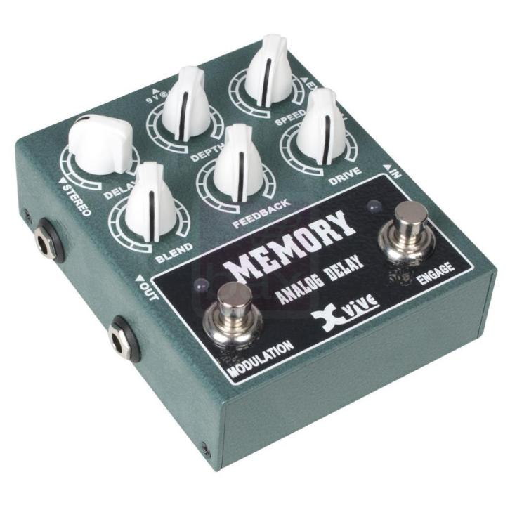 Xvive W3 Memory Analog Delay effectpedaal