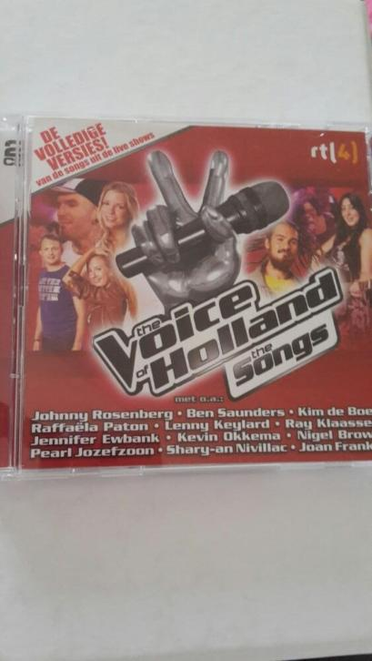 Cds the voice of holland (jaar van ben saunders)